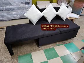 Диван для кухни с боковой раскладкой спального места, фото 3