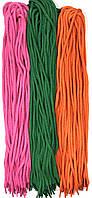 Шнурки 100см Микс №6 круглые 5мм Kiwi