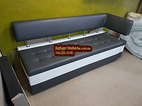 Диван для узкой кухни Экстерн со спальным местом 1800х550х850мм, фото 2