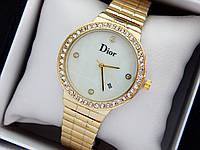 Женские наручные часы Dior золото с перламутровым циферблатом, код 1475, фото 1