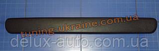 Зимняя заглушка на решетку радиатора на Daewoo Lanos низ мат