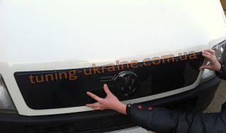 Зимняя накладка (заглушка) на решетку радиатора Volkswagen LT35 1996-2000 глянцевая