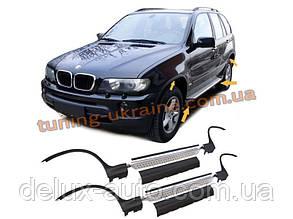 Пороги оригинальные для BMW X5 1999-2006