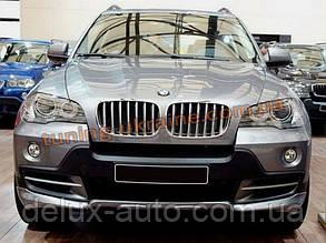 Накладки на бампер передняя и задняя BMW X5 2006-13