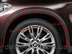 Расширители арок на BMW X5 F15 2014+