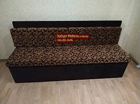 Диван для узкой кухни, коридора с ящиком + спальным местом 1800х550х850мм, фото 2