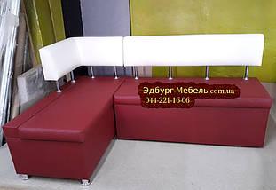 Кухонный уголок с укороченной спинкой для подоконика, фото 2
