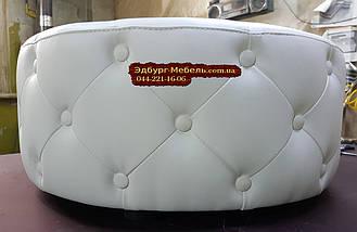 Пуф круглый с пуговицами 70х70см, фото 2