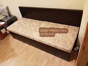 Самый узкий диван для узкой кухни, коридора с ящиком + спальным местом 1800х450х850мм, фото 2