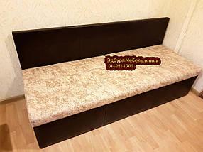Самый узкий диван для узкой кухни, коридора с ящиком + спальным местом 1800х450х850мм, фото 3