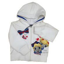 Детская толстовка для девочки Krytik Италия 84260/KN/00A Белый