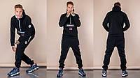 Стильный мужской спортивный костюм, теплая трехить с начесом 46,48,50,52р.