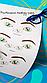 """Готовое решение для преподавателя - Схемы глаз """"Lash coach"""" в методичку или на обучение по ресницам, фото 4"""