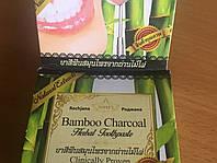 Абсолютно натуральная,тайская зубная паста с бамбуковым углем и травами,25 гр.