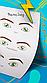 """Готовое решение для преподавателя - Схемы глаз """"Lash coach"""" в методичку или на обучение по ресницам, фото 3"""