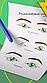 """Готовое решение для преподавателя - Схемы глаз """"Lash coach"""" в методичку или на обучение по ресницам, фото 2"""