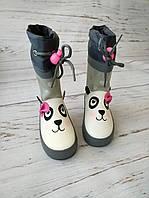 Детские резиновые сапоги для девочек Bi&Ki