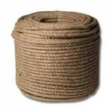 Верёвка (канат) джутовая  крученая д.8мм, фото 7