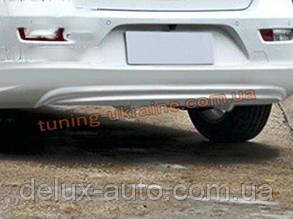 Юбка задняя на Chevrolet Cruze (хэтчбек) 2012+