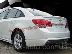 Юбка задняя на Chevrolet Cruze 2012+ Extreme