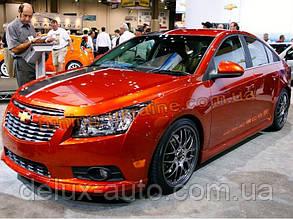 Юбка передняя Z-line на Chevrolet Cruze 2012+