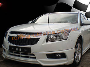 Юбка передняя на Chevrolet Cruze 2012+ Extreme