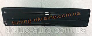 Зимняя заглушка на решетку радиатора на Renault Trafic с 01-06 низ глянец