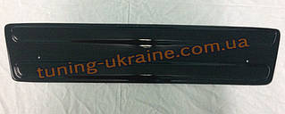 Зимняя заглушка на решетку радиатора на Renault Trafic с 01-06 низ мат