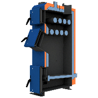 Котел НЕУС-ВМ 25 кВт твердотопливный длительного горения