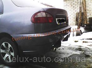Задний бампер RS из стеклопластика для Chevrolet Lanos (ZAZ Chance)