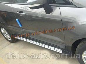 Пороги оригинал в БМВ стиль для Ford Ecosport 2013+