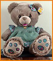 Медвежонок в платье 42 см | Плюшевый медведь