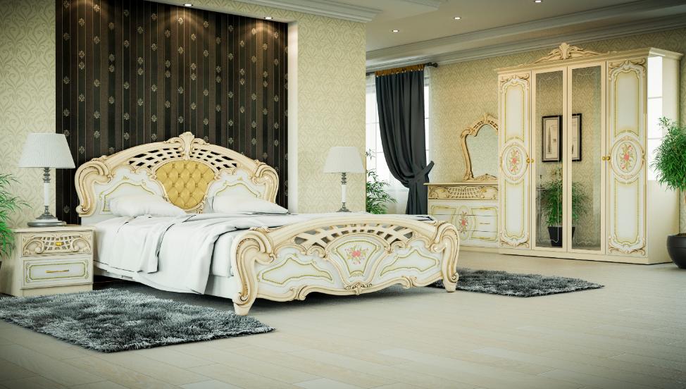 Спальня Кармен новая, люкс