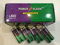 Батарейки Power Flash LR03