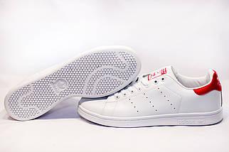 Кроссовки мужские в стиле Adidas Stan Smit белые, фото 3