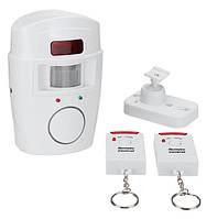 Сенсорная сигнализация с датчиком движения с дистанционным управлением Mini Alarm Pro Remote Controlled, фото 1