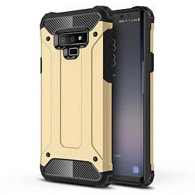 Бронированный противоударный TPU+PC чехол Immortal для Samsung Galaxy Note 9.