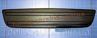 Зимняя заглушка на решетку радиатора на Renault Trafic 2007-2013 низ мат