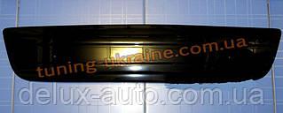 Зимняя заглушка на решетку радиатора на Renault Trafic 2007-2013 низ глянец