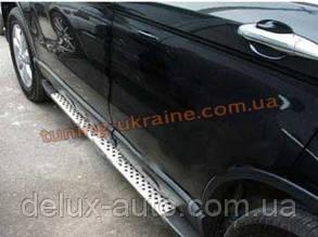 Пороги боковые оригинал в BMW Style №1 для Honda CR-V