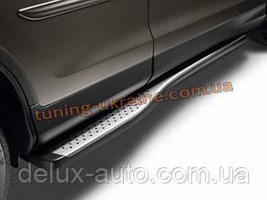 Пороги боковые оригинальные для Honda CR-V 2012