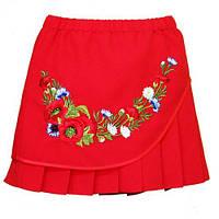 Вышитая юбка для девочки рост 110,116,122,128,134,140