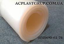 Резина силиконовая термостойкая, рулонная, толщина 2.0-10.0 мм, ширина 1200 мм.