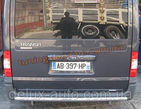 Защита заднего бампера труба прямая D60 на Ford Transit