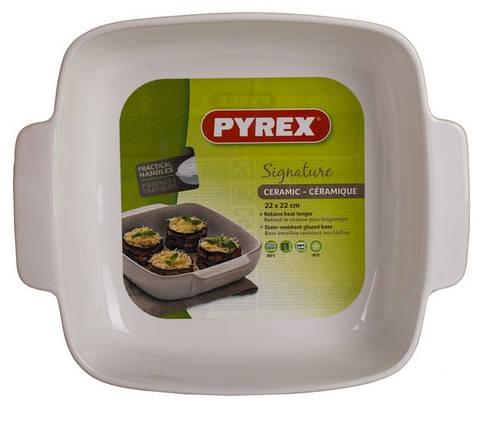 Форма для запекания Pyrex Signature SG22SR4 22х22 см, фото 2