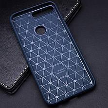 TPU чехол Glossy Half для Huawei Y7 Prime (2018) / Honor 7C pro, фото 3