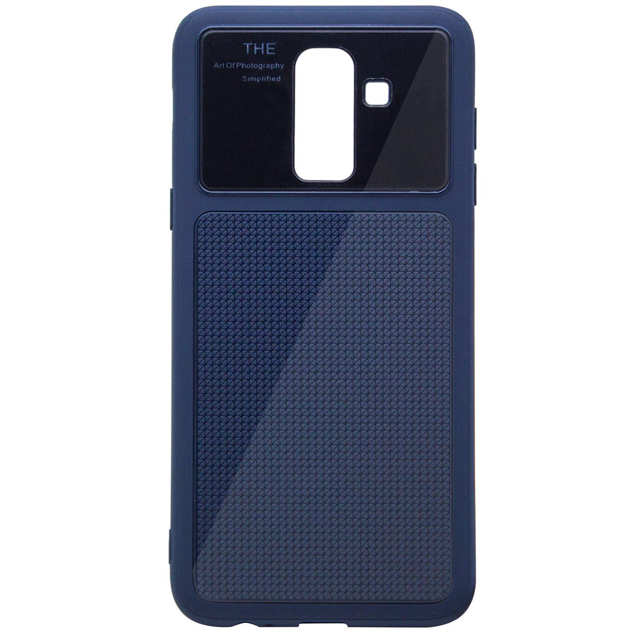 TPU чехол Glossy Half для Samsung Galaxy J8 (2018)