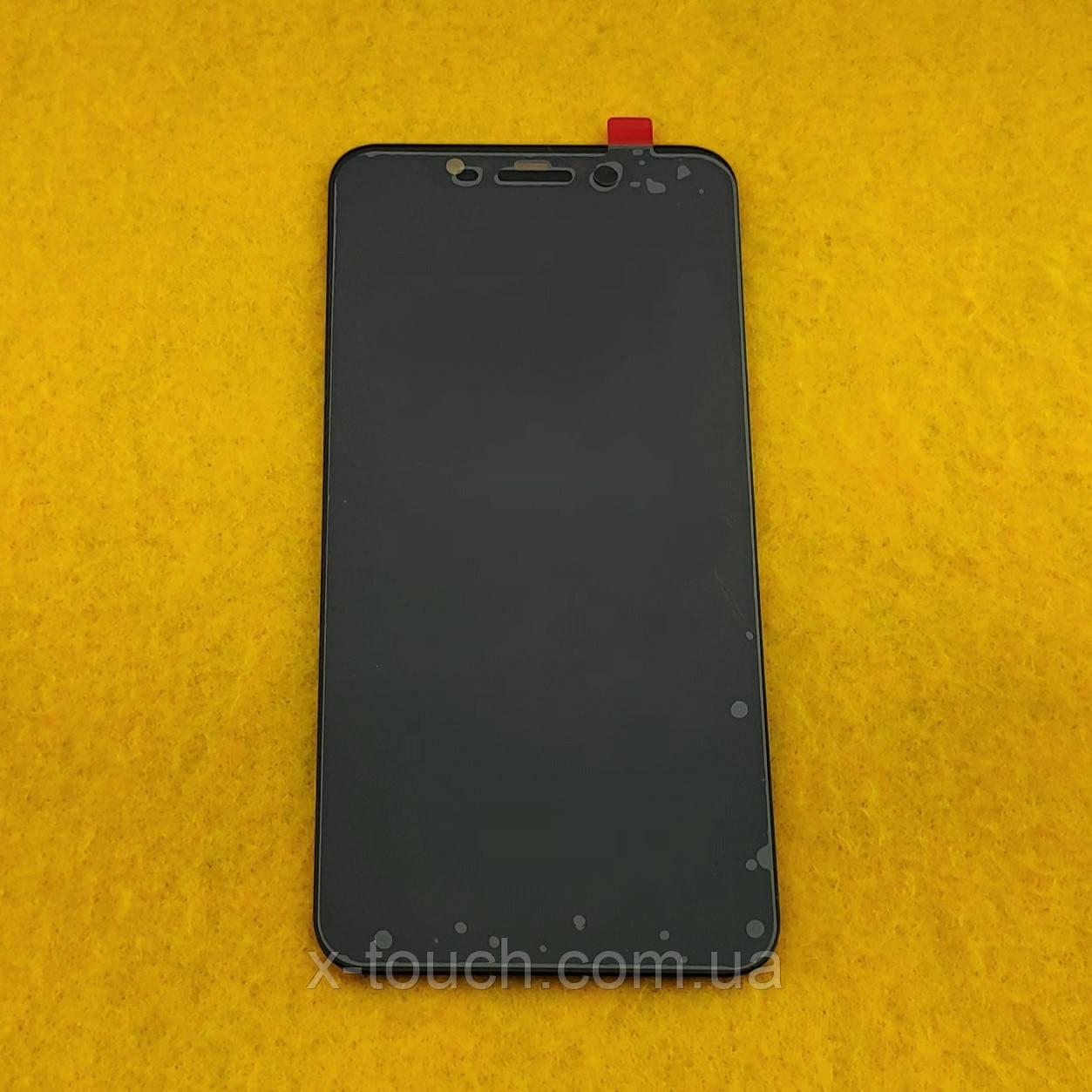 Модуль Xiaomi Mi 8 дисплей с сенсором для телефона, черного цвета.