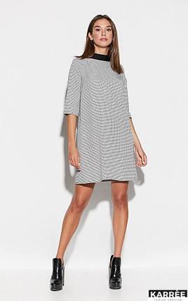 Красивое платье выше колен цвет черный, фото 2