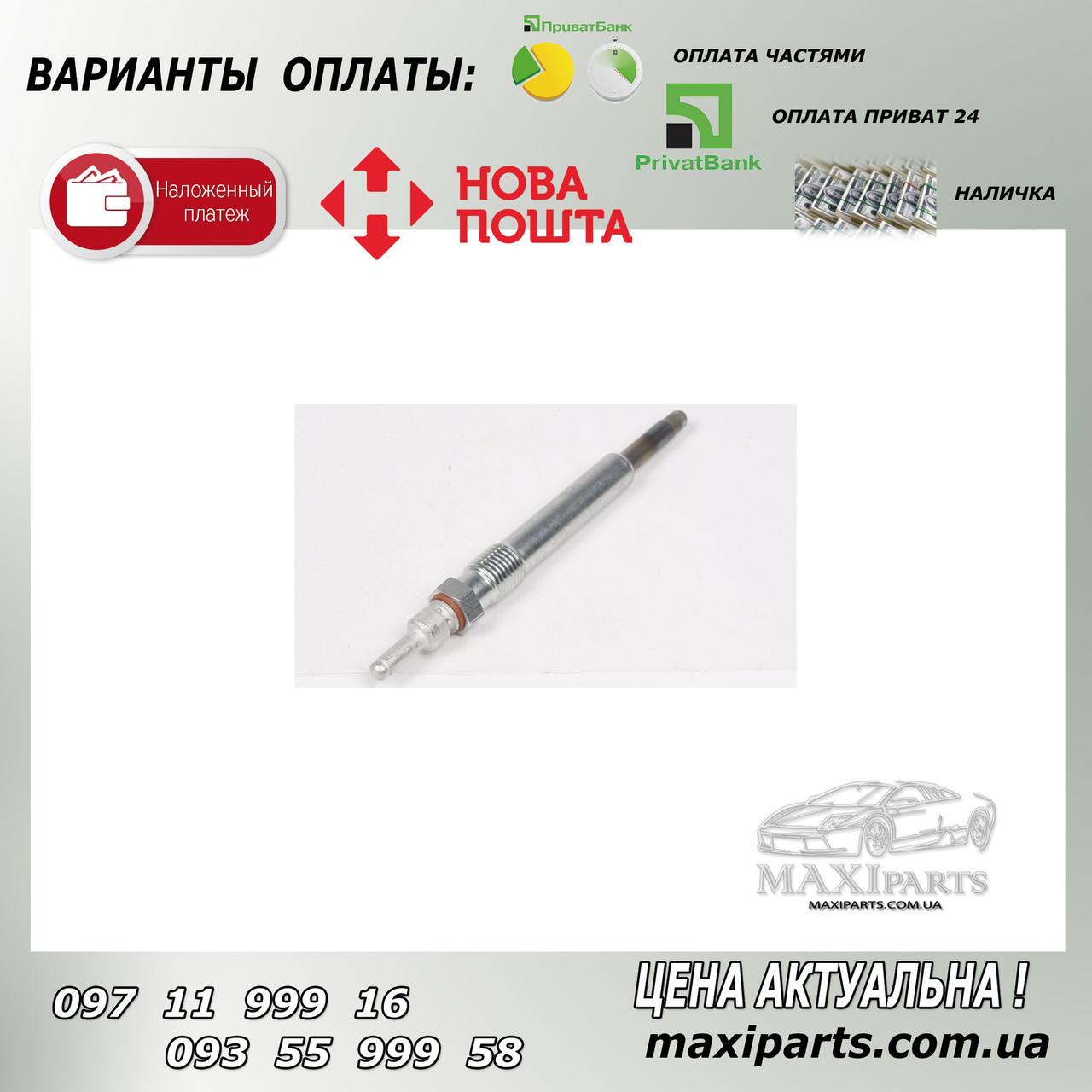 Свеча накала Mercedes OM604-606 11.5V M12x1.25/4.5s